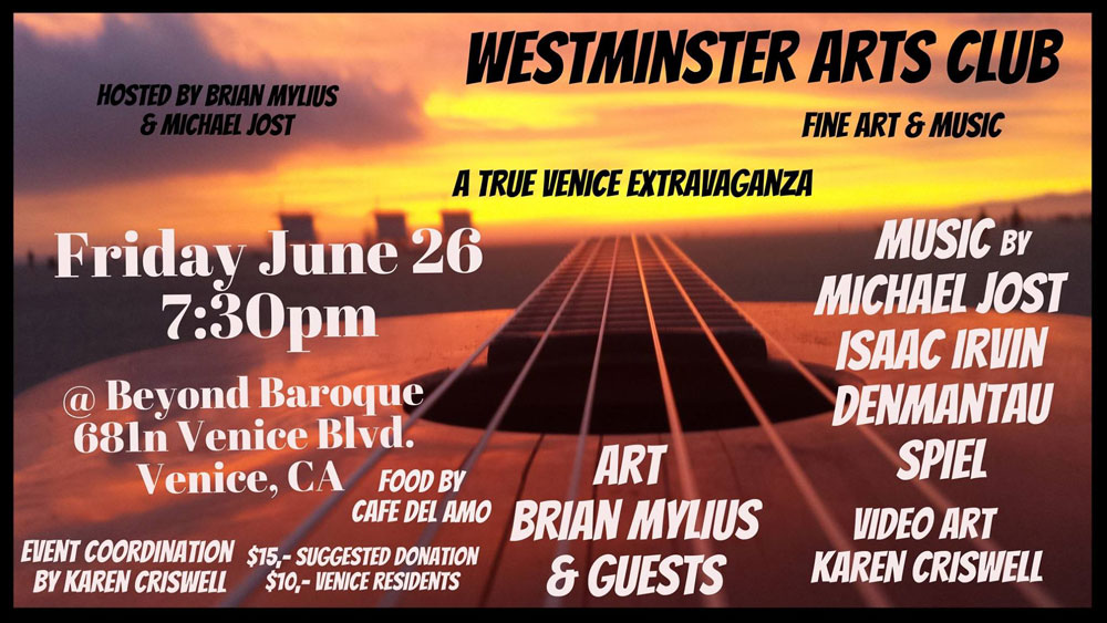 Westminster Arts Club - June 26 2015